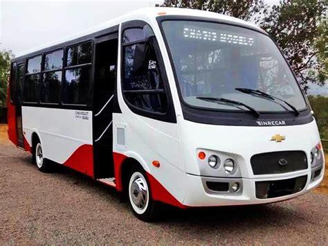 Www Maramani Com chevrolet chile ingresa al mercado de los buses con modelo
