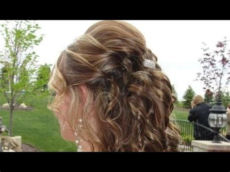 wedding hairstyles down youtube 30 half up half down hairstyles for short hair half up