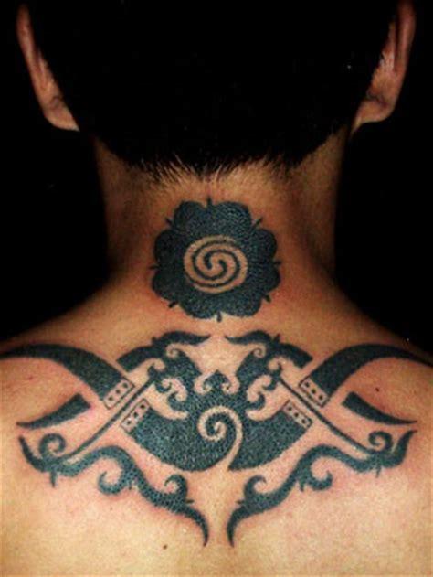 photo tattoo iban my city kuching sarawak