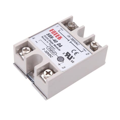 24 380v 40a Ssr 24v 380v ssr 40da 40a solid state relay for pid temperature controller durable