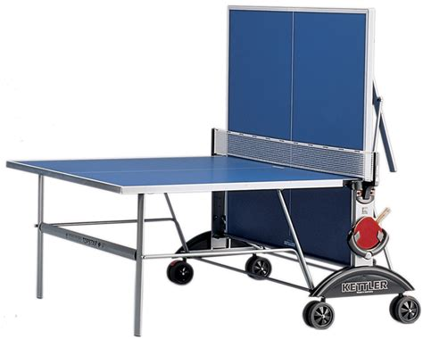 kettler top star xl outdoor ping pong table
