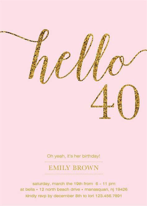 40th birthday invitation designs 40th birthday invitation ideas 40th birthday invitation ideas and the birthday invitation cards