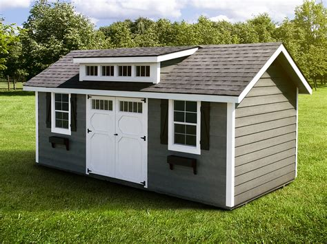 heritage prefab garden shed woodtex