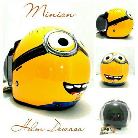 Helm Bogo Minions helm bogo retro klasik jpn minion kuning sni elevenia