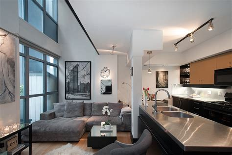 one bedroom apartments vancouver cool yaletown loft in vancouver idesignarch interior