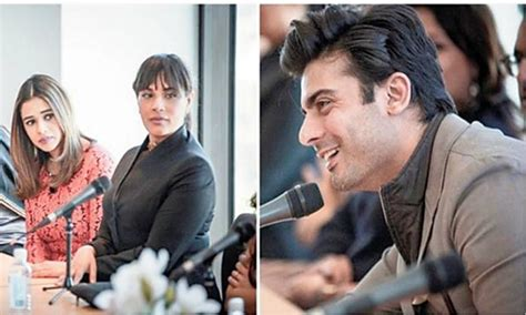 richa chadda pakistan richa chadda rescues fawad khan falls into trouble
