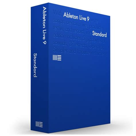 ableton live 9 upg lite live 9 upgrade from live lite