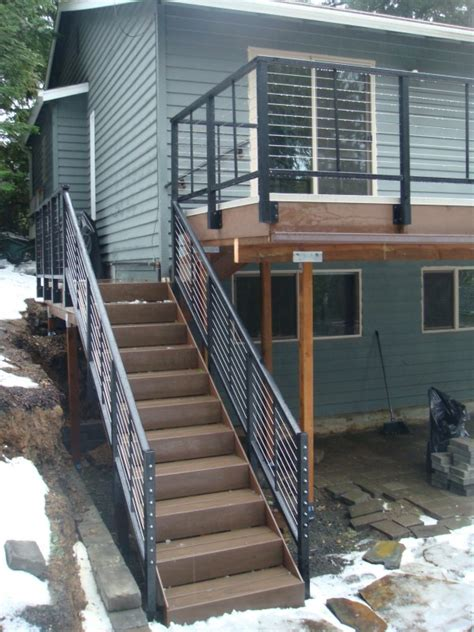 stainless steel deck railing kit doherty house