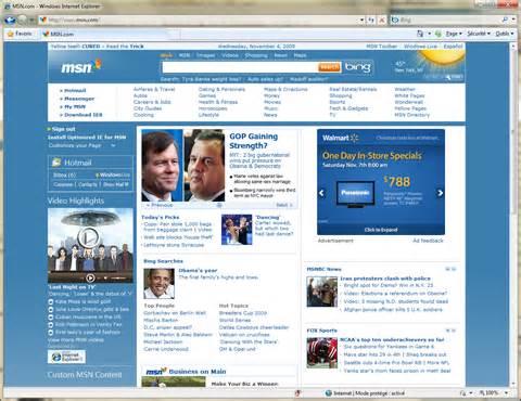 Www Msn Com microsoft renouvelle la page d accueil de son msn