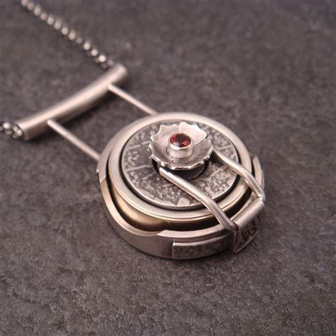 wedding ring holder pendant ring pendant sterling silver