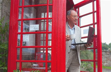 Bookcrossing Telephone Boxes Are The New Cafes by Phone Box Converted Into Scotland S Smallest 24 Hour
