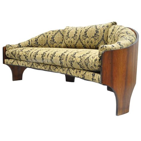 curved sofas for sale henry p glass sculptural intimate island suite walnut