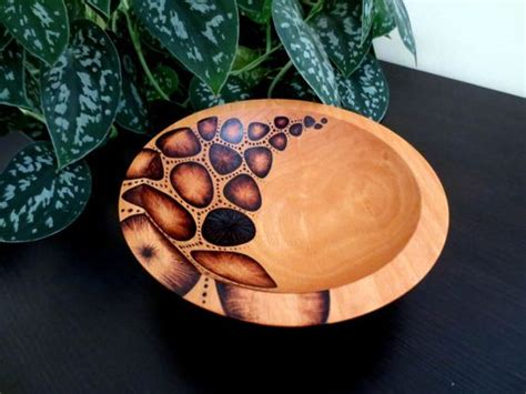 bowl designs wooden bowl pyrography design modern woodburned beech