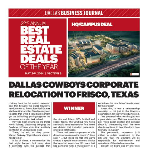 dallas entertainment journal the best of dallas news updates rex real estate