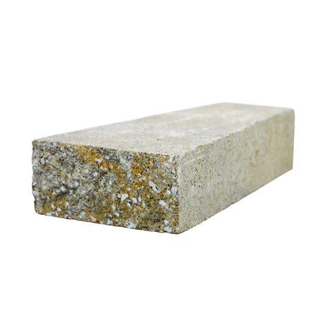 pavestone rockwall 9 in x 4 5 in x 2 in yukon concrete