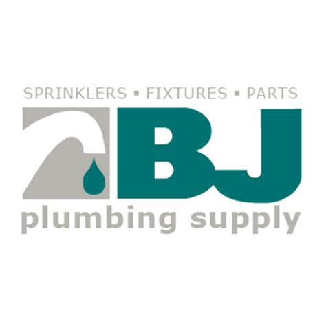 Logo Plumbing Supply by Home Bj Plumbing