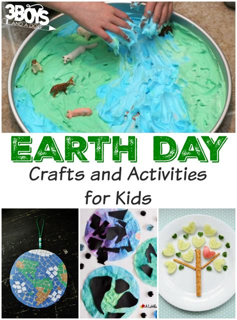 and crafts activities for earth day activities and crafts for 3 boys and a
