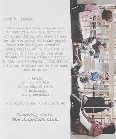 breakfast club letter dear mr vernon letter from the breakfast club 1101