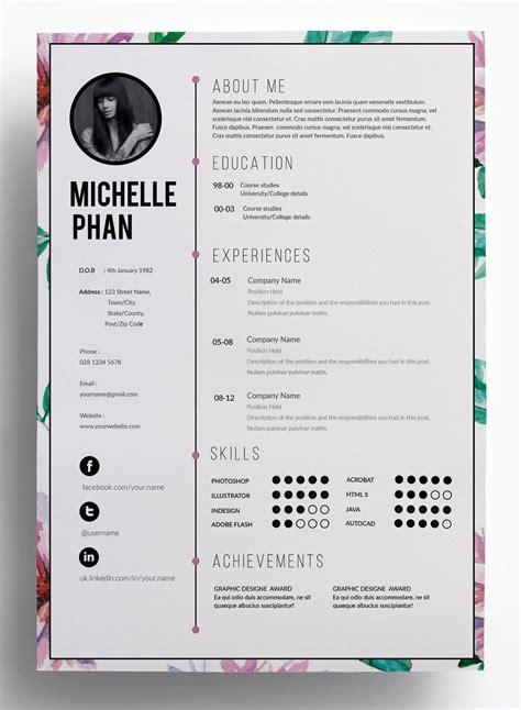 super chic clean professional  modern resume