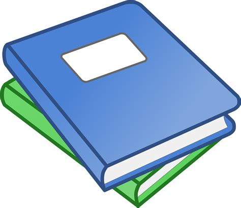 two a novel books フリーイラスト素材 クリップアート 本 書籍 ブック svg id 201404091600
