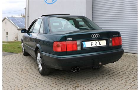 Audi A6 Sportauspuff by Fox Sportauspuff Audi 100 A6 S6 Typ C4 Endrohr 2x76mm