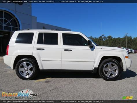 2007 Jeep Patriot Limited White 2007 Jeep Patriot Limited 4x4 Photo 8