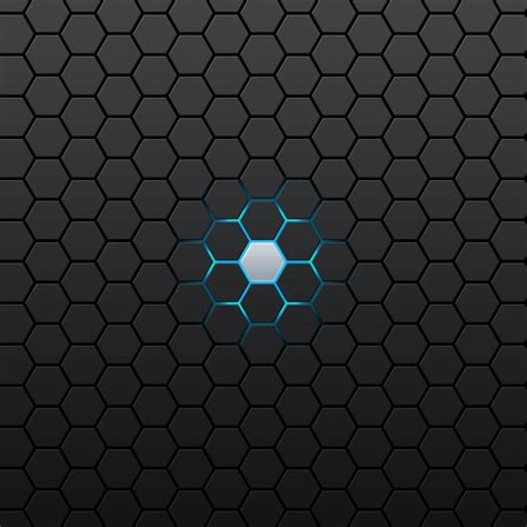 Prison Floor Plan by Blue Hexagon Glow Iphone Shockwave Wallpapers