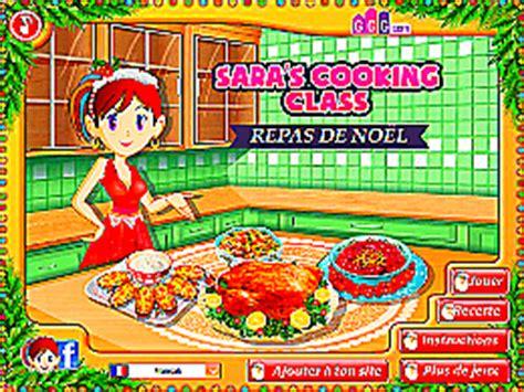 jeu de cuisine de noel repas de no 235 l 201 cole de cuisine de un des jeux en