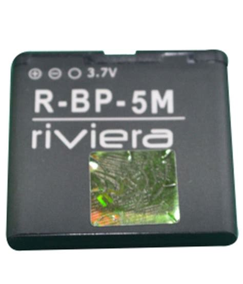 Bateri Nokia Bp5m riviera lithium ion mobile battery for nokia bp 5m 700 mah batteries at low prices