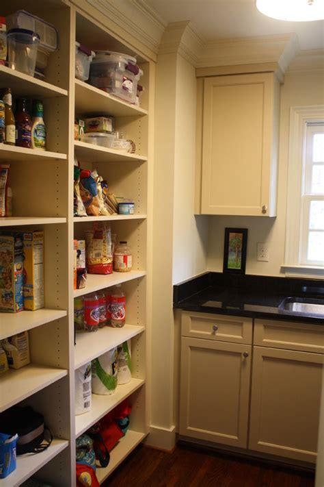 Pantry Room Shelving Open Shelving In The Kitchen The Inspired Nester