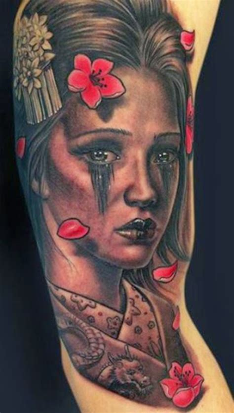 tattoo de una geisha mind blowing geisha tattoos and meanings
