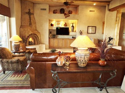 southwest living room southwest desert home