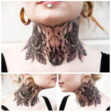 neck tattoo getting job best 25 throat tattoo ideas on pinterest