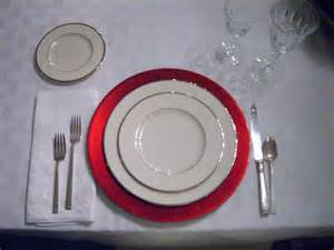 tisch und teller charger table setting