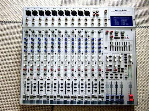Mixer Alto L20 alto professional l16 image 16040 audiofanzine