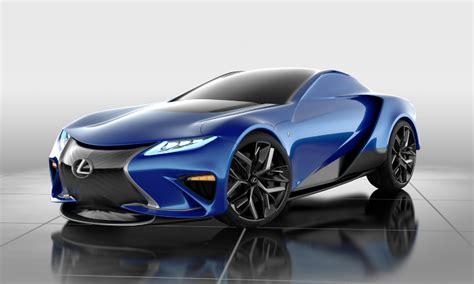 student designs lexus lf la supercar concept lexus