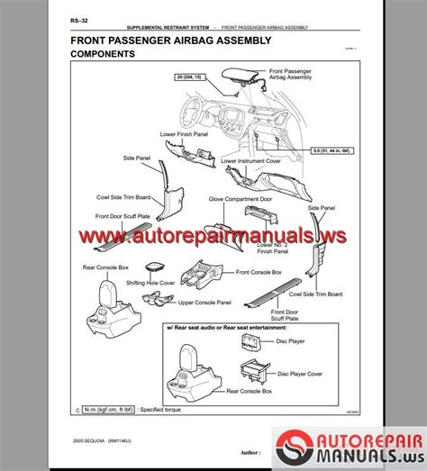 car maintenance manuals 2006 toyota sequoia parking system toyota sequoia 2001 2006 repair manuals auto repair manual forum heavy equipment forums