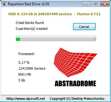 format hard disk with bad sector dmitriy primochenko online repartition bad drive