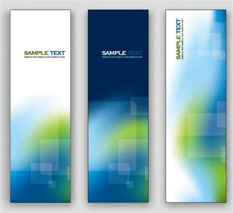free elegant vertical banner background vector 02 titanui