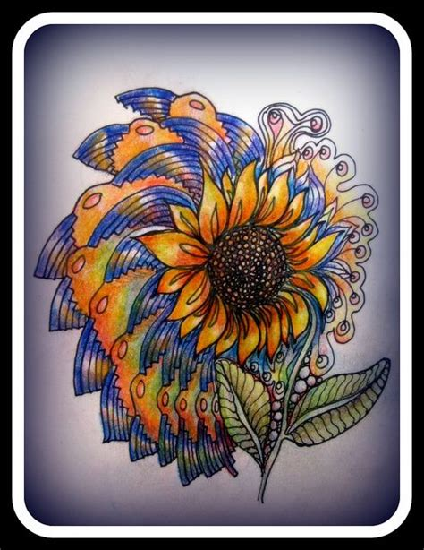 sunflower doodle god 114 best images about sunflowers on