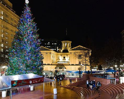 christmas trees oregon city a guide to the best events in portland oregon