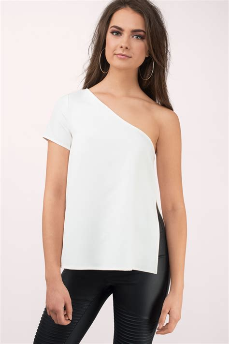 To Trendy White white sheer blouse trendy clothes