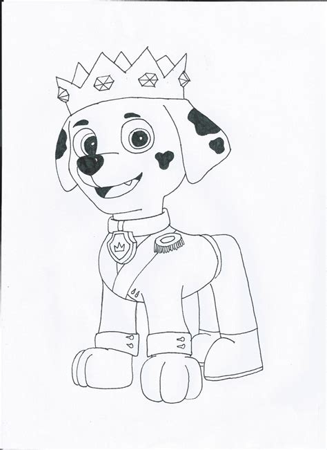 coloring pages of marshall paw patrol paw patrol marshall coloring pages coloring pages