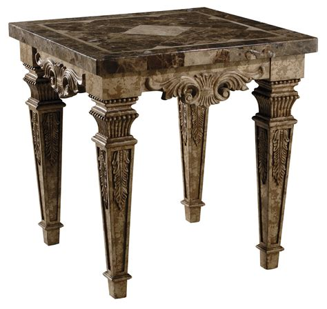 marble top accent table marble top end table ornate accent table with carved