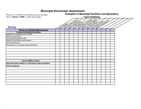 inventory template 6 inventory checklist template procedure template sle