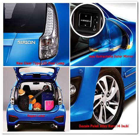 Spion Mobil Sirion Spesifikasi Lengkap Daihatsu New Sirion 2016