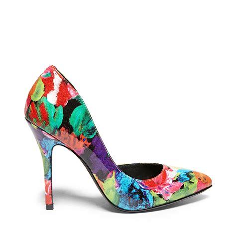 steve madden floral sandals steve madden groovi in floral lyst