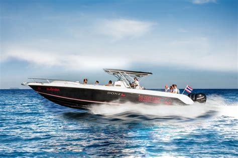 donzi boats speed private luxury speedboat tours phuket islands of thailand