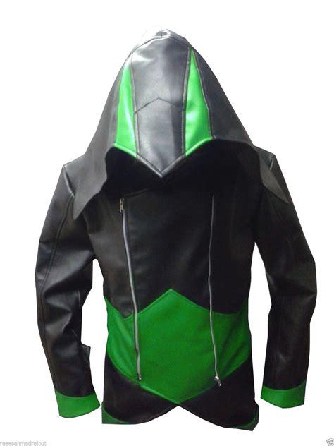 Hoodie Assassins Creed 3 assassin s creed 3 black green kenway hoodie jacket coat 2016 on luulla