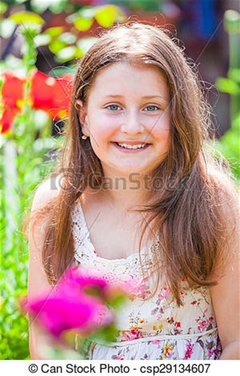 portrait of 10 year old girl stock photo getty images stock photography of portrait of 10 year old girl